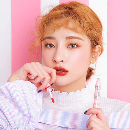 3CE STUDIO VELVET CREAM LIP & PENCIL #FOCUS ON ME