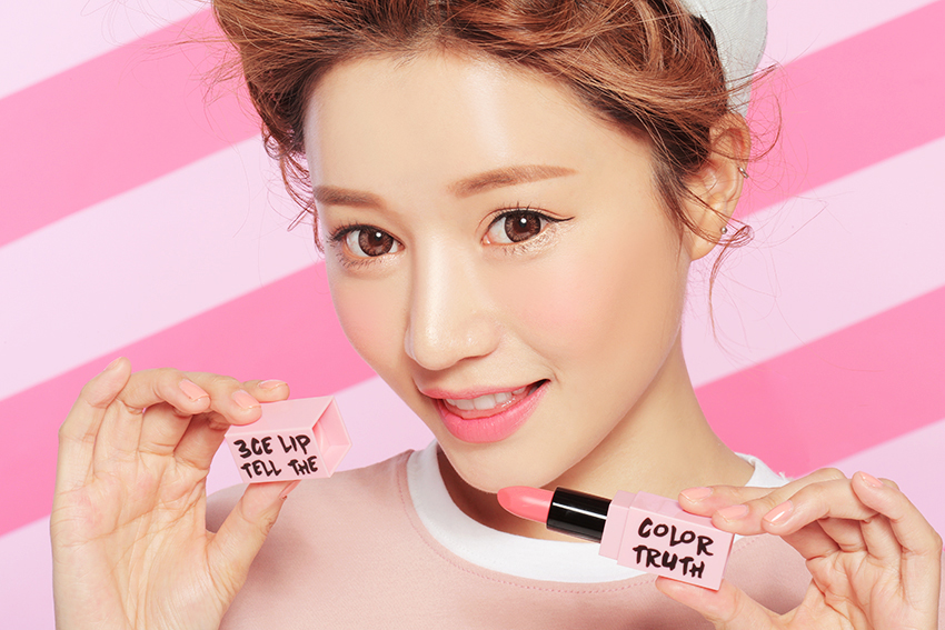 3CE PINK RUMOUR DANGEROUS MATTE LIP COLOR-#809