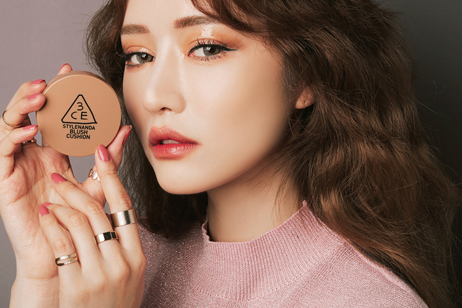 3CE BLUSH CUSHION #SOFT BROWN