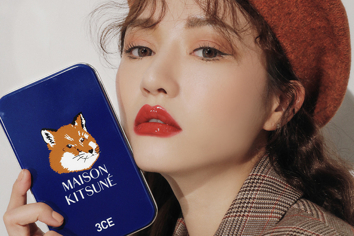 3CE MAISON KITSUNE MINI BRUSH KIT