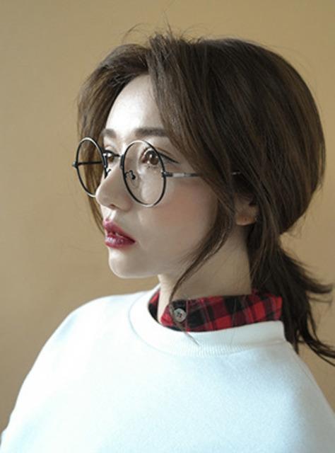 영피플 동글테 안경