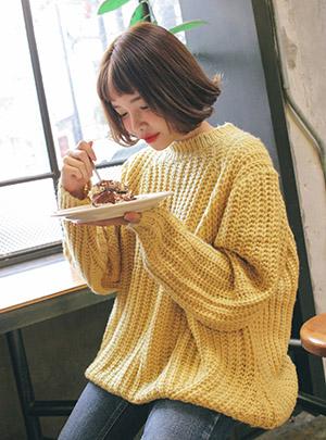 꿀 떨어지는 데일리 와플니트12월 16일부터 순차 배송가능!!
