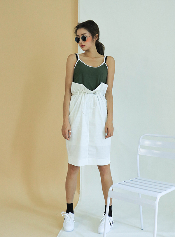 Daily Hope string waist up midi sk